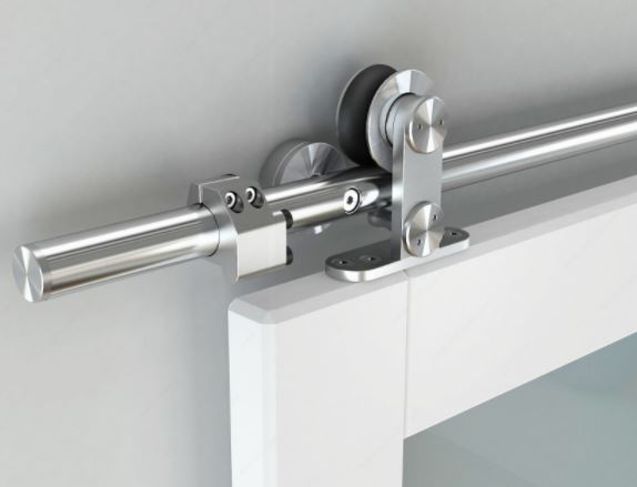 Albergo TM   Professional Series Barn Door Top Mount Trolley Sliding System