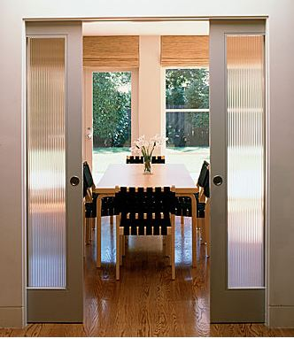 interior sliding glass pocket doors