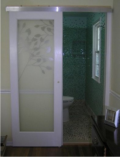 Sliding glass doors pocket doors bathroom doors Glass bathroom doors interior